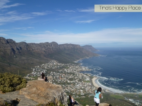 View of the 12 Apostles from Lion's Head