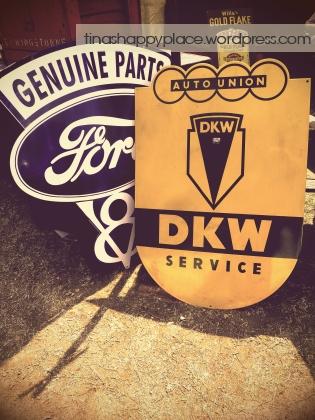 Old Motor Car Shop Signs Modderfontein Johannesburg